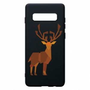 Phone case for Samsung S10+ Deer abstraction - PrintSalon