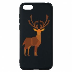 Phone case for Huawei Y5 2018 Deer abstraction - PrintSalon