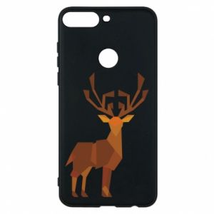 Phone case for Huawei Y7 Prime 2018 Deer abstraction - PrintSalon