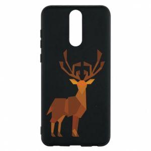 Phone case for Huawei Mate 10 Lite Deer abstraction - PrintSalon