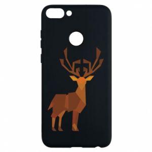 Phone case for Huawei P Smart Deer abstraction - PrintSalon