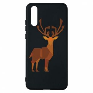 Phone case for Huawei P20 Deer abstraction - PrintSalon