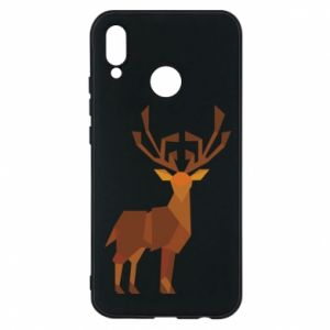 Phone case for Huawei P20 Lite Deer abstraction - PrintSalon