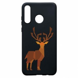 Etui na Huawei P30 Lite Deer abstraction