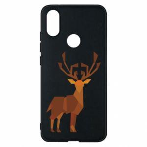 Phone case for Xiaomi Mi A2 Deer abstraction - PrintSalon