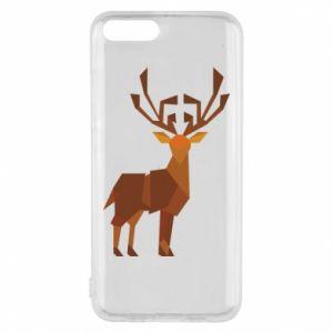 Phone case for Xiaomi Mi6 Deer abstraction - PrintSalon
