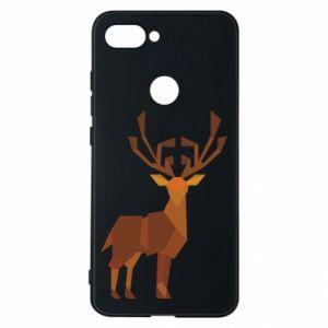 Phone case for Xiaomi Mi8 Lite Deer abstraction - PrintSalon
