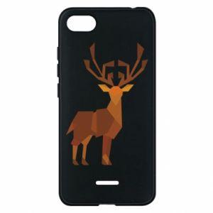Phone case for Xiaomi Redmi 6A Deer abstraction - PrintSalon