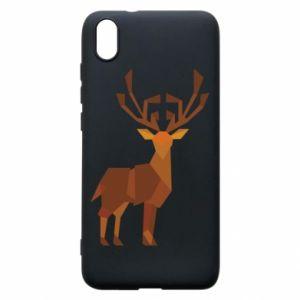 Phone case for Xiaomi Redmi 7A Deer abstraction - PrintSalon