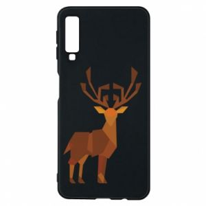 Phone case for Samsung A7 2018 Deer abstraction - PrintSalon
