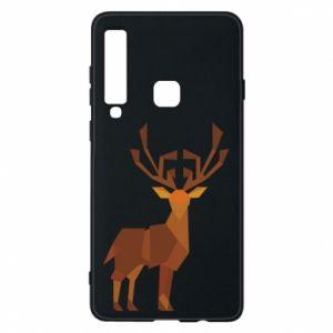 Phone case for Samsung A9 2018 Deer abstraction - PrintSalon
