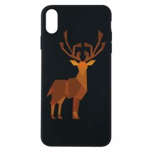 Etui na iPhone Xs Max Deer abstraction