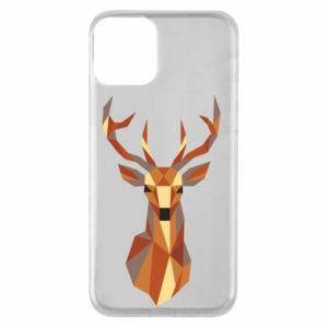 Etui na iPhone 11 Deer geometry in color