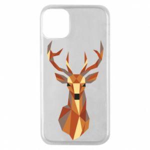 Etui na iPhone 11 Pro Deer geometry in color