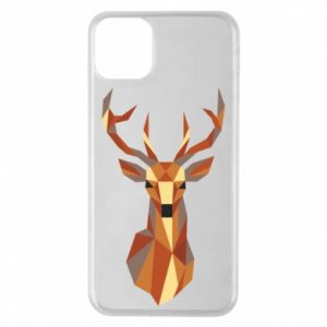 Etui na iPhone 11 Pro Max Deer geometry in color