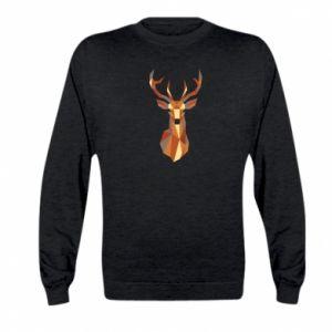Bluza dziecięca Deer geometry in color