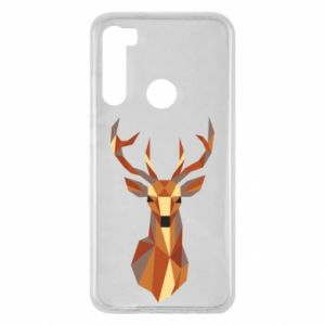 Etui na Xiaomi Redmi Note 8 Deer geometry in color