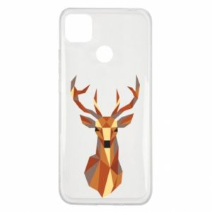 Etui na Xiaomi Redmi 9c Deer geometry in color
