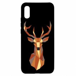 Etui na Xiaomi Redmi 9a Deer geometry in color