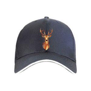 Czapka Deer geometry in color