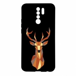 Etui na Xiaomi Redmi 9 Deer geometry in color
