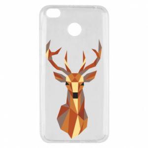 Etui na Xiaomi Redmi 4X Deer geometry in color