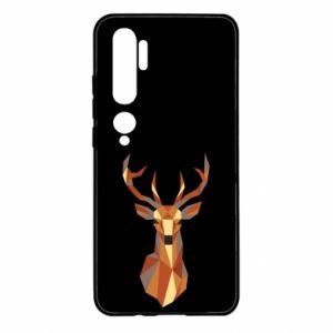 Etui na Xiaomi Mi Note 10 Deer geometry in color