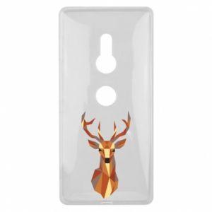 Etui na Sony Xperia XZ2 Deer geometry in color