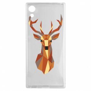 Etui na Sony Xperia XA1 Deer geometry in color