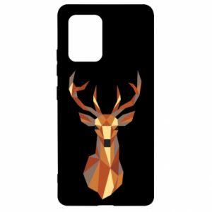 Etui na Samsung S10 Lite Deer geometry in color