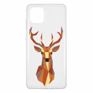Etui na Samsung Note 10 Lite Deer geometry in color