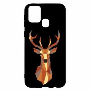 Etui na Samsung M31 Deer geometry in color