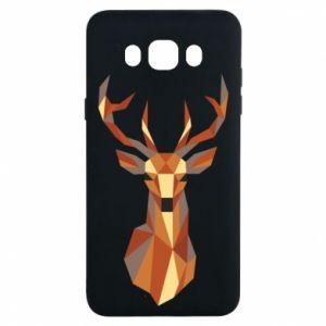 Etui na Samsung J7 2016 Deer geometry in color