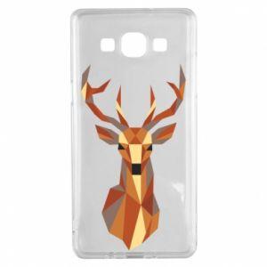 Etui na Samsung A5 2015 Deer geometry in color