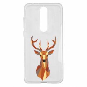 Etui na Nokia 5.1 Plus Deer geometry in color