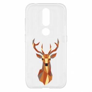 Etui na Nokia 4.2 Deer geometry in color