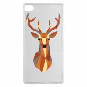 Etui na Huawei P8 Deer geometry in color