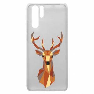Etui na Huawei P30 Pro Deer geometry in color