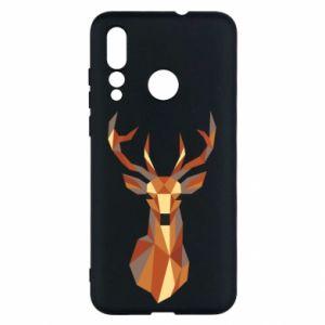 Etui na Huawei Nova 4 Deer geometry in color