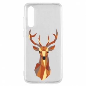 Etui na Huawei P20 Pro Deer geometry in color