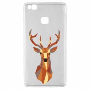 Etui na Huawei P9 Lite Deer geometry in color