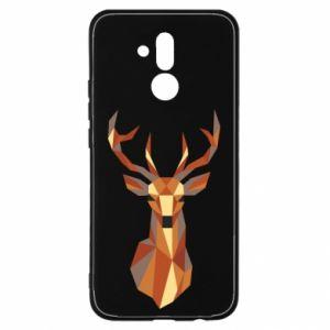 Etui na Huawei Mate 20 Lite Deer geometry in color
