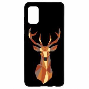 Etui na Samsung A41 Deer geometry in color