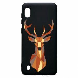 Etui na Samsung A10 Deer geometry in color
