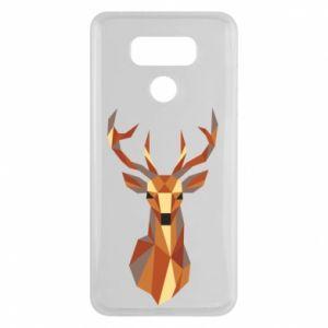 Etui na LG G6 Deer geometry in color