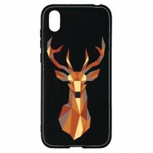 Etui na Huawei Y5 2019 Deer geometry in color
