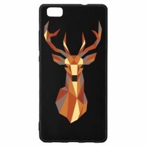 Etui na Huawei P 8 Lite Deer geometry in color