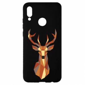 Etui na Huawei P Smart 2019 Deer geometry in color