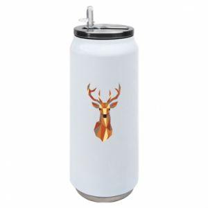 Puszka termiczna Deer geometry in color