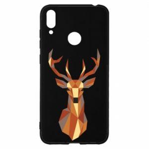 Etui na Huawei Y7 2019 Deer geometry in color